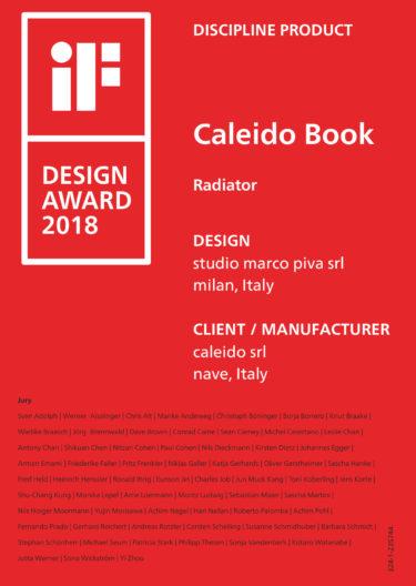 Book Caleido I F Certificate 2018 Small